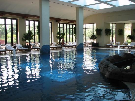 Indoor Swimming Pool Picture Of Grand Hyatt Dubai Dubai Tripadvisor
