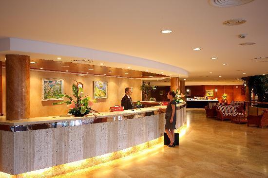 Valentin Park Clubhotel: Recepción
