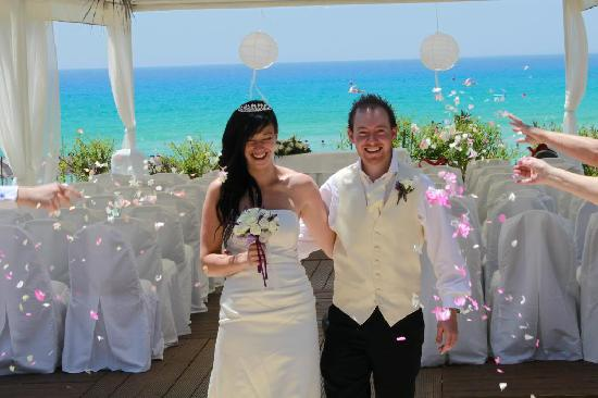 Nissi Beach Resort: Just married