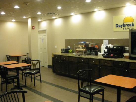 Days Inn Mattoon: Breakfast nook is nice, if you can find it