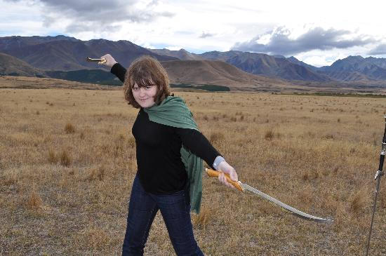 Lord of the Rings Twizel Tour: My Gorgeous Girl
