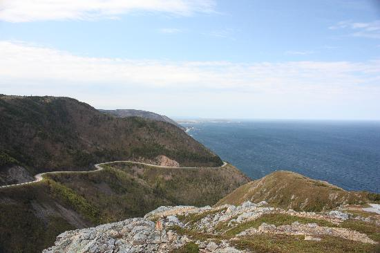 Cape Breton Highlands National Park : View from Skyline Trail