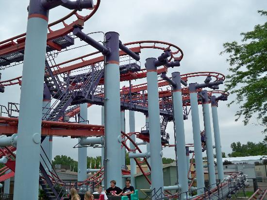 Shakopee, MN: Mad mouse ride