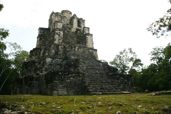 Quintana Roo, Mexico: Muyil castillo