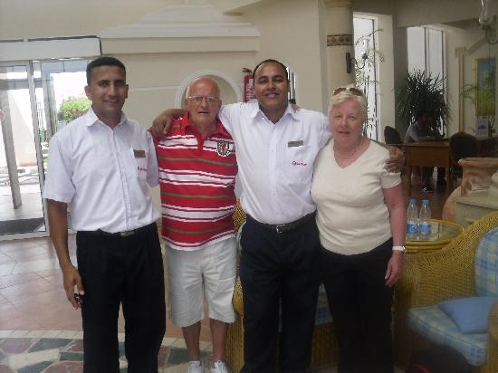 Aurora Sharm Resort : Saying our goodbyes to Emad and Mohamad