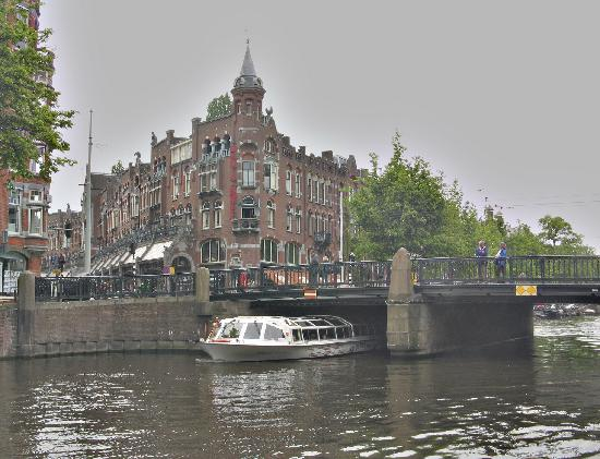 Hotel Nadia : View from the Keizersgracht