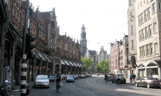 Hotel Nadia: View to the WesterKerk