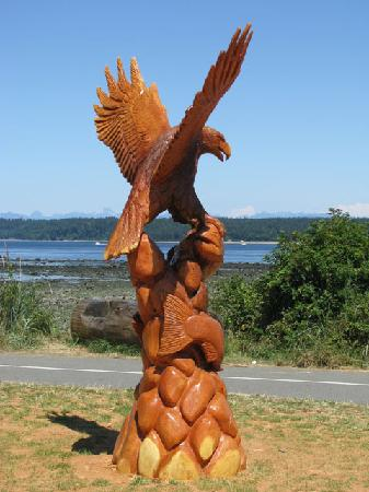 Campbell River, Καναδάς: One of my favorites from the annual chainshaw carving competition