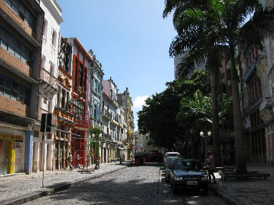 Internacional Palace Hotel: Recife antiguo