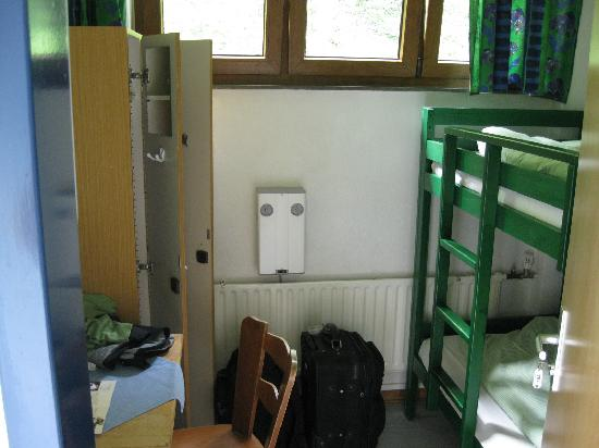 Loreley-Jugendherberge St. Goar: Our 2-person room