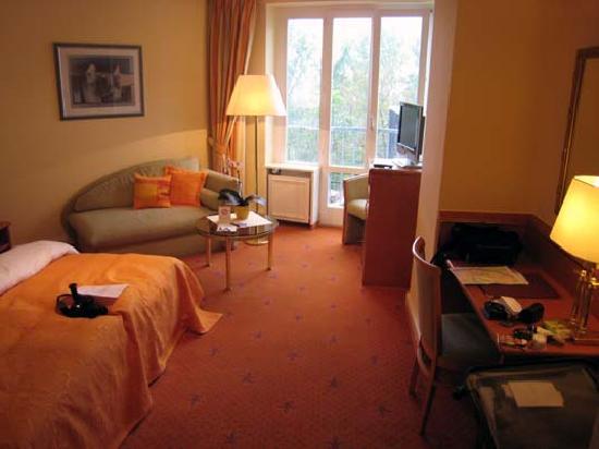 Hotel Villa Hugel: Sleep (comfort room)