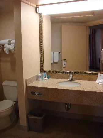 Hampton Inn & Suites Santa Ana/Orange County Airport: One bedroom suite
