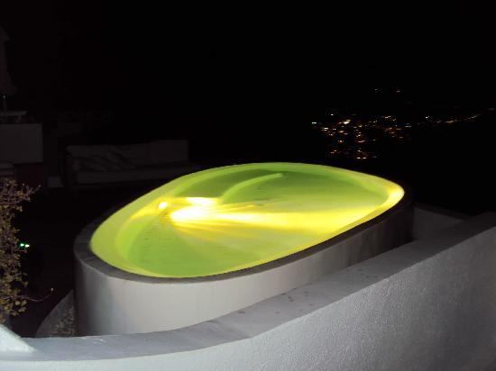 Irini's Villas Resort: another hotel's pool next to my room