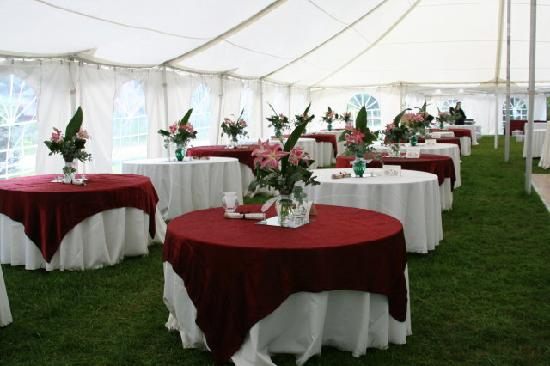 Taylor House Inn: Wedding on the Grounds