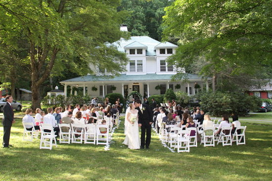 Wedding at the Taylor House Inn, Valle Crucis, NC