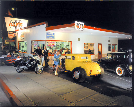 101 Cafe as a Drive-In