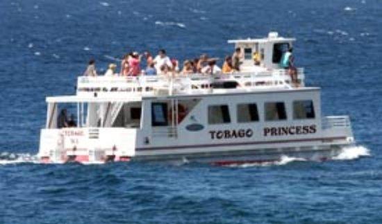 Tobago Princess Day Cruiser: Join us on a Fun Cruise