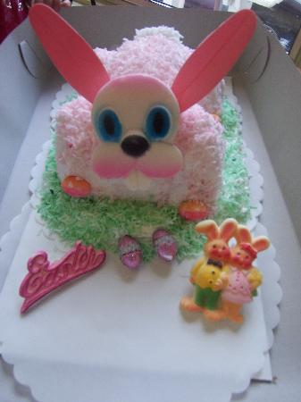 Kings Beach, Californien: Easter Bunny Cake