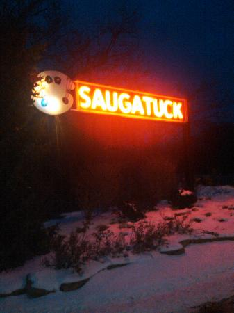 Entrance to Saugatuck
