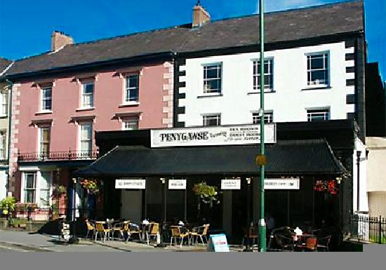 Penygawse Guest House & Tea Rooms : The homely Penygawse guest house and Victorian Tearooms