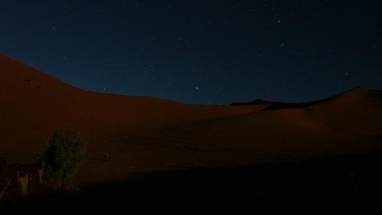 Riad Mille et une Etoilles: Noche en el desierto