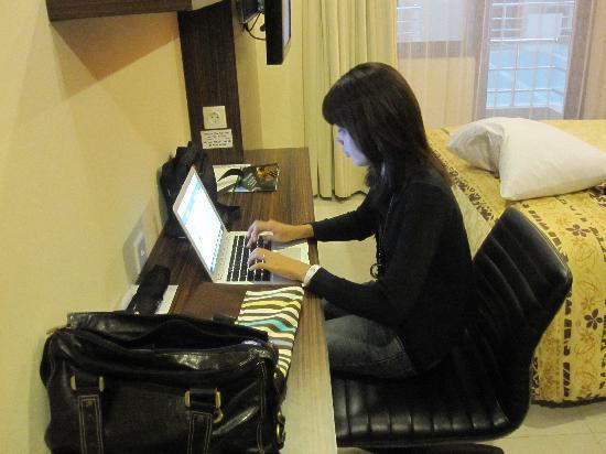 Prasada Mansion: free wireless internet in the room