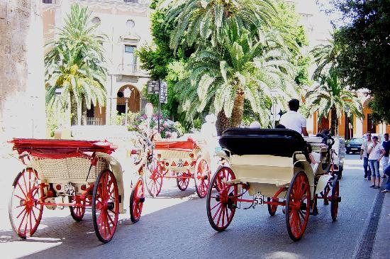 Sa Coma, Hiszpania: The streets of Palma, Majorca