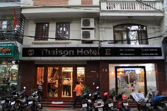 โรงแรมนิว ฮานอย: Hotel entrance