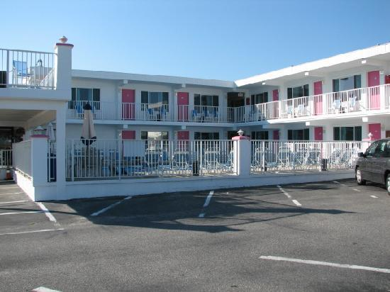 View from our room picture of alante oceanfront motel for Motor inn city ave