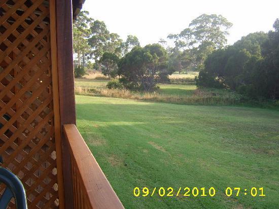 The Koorabup Motel: View from the veranda