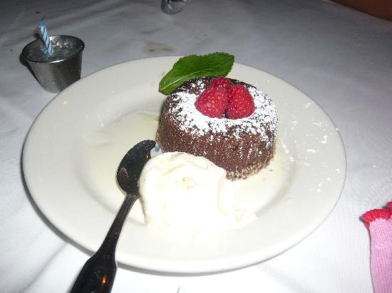 Morton's, The Steakhouse: Dessert