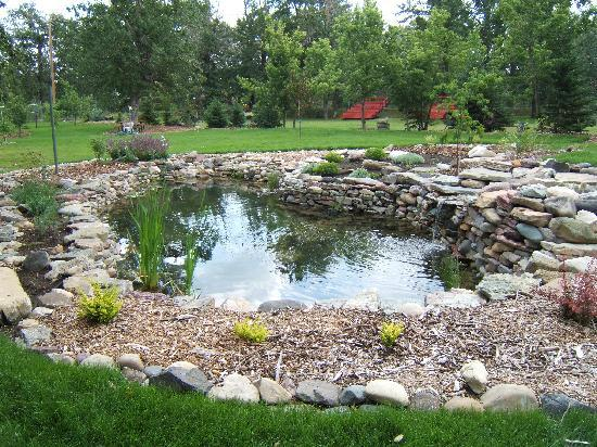 Kootenai Brown Pioneer Village: Pioneer Pond