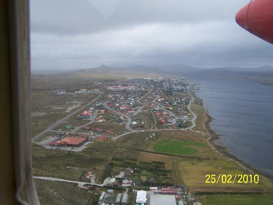 Islas Malvinas: Stanley from the air