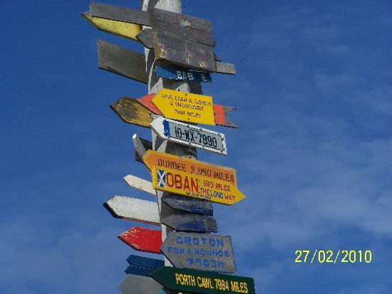 Islas Malvinas: our sign (from Ireland) on the totem pole