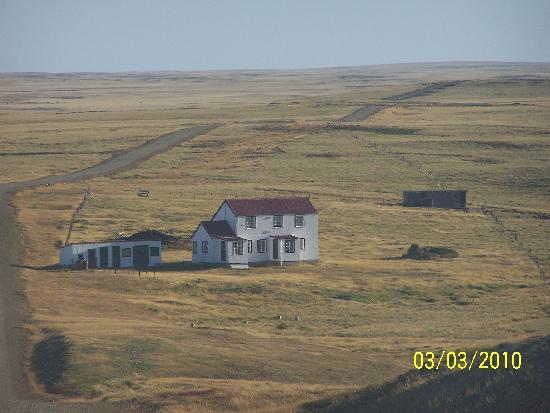 Islas Malvinas: the long drive to north arm