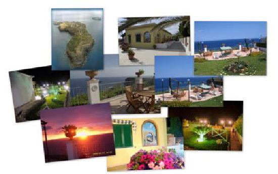 Ventotene, Włochy: Collage