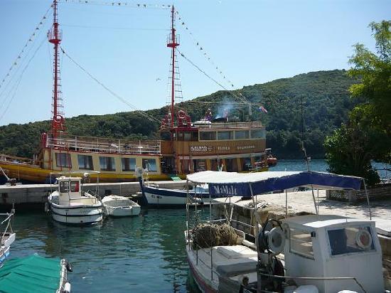 Rabac, Croatia: Schifffahrt mit der Monsum/vorige Anmeldung