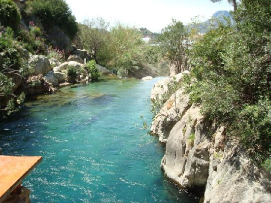 Las Fuentes del Algar (Fonts de l'Algar): Swimming area