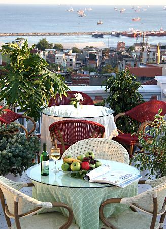 Hotel Niles Istanbul: The Terrace