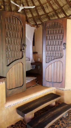 Casa Viva Troncones: beautiful bedroom entrance