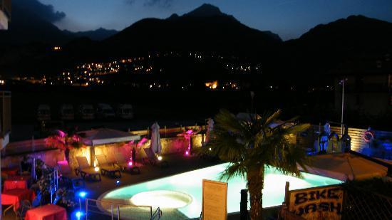 Hotel Rudy: la piscina vista dal mio balcone
