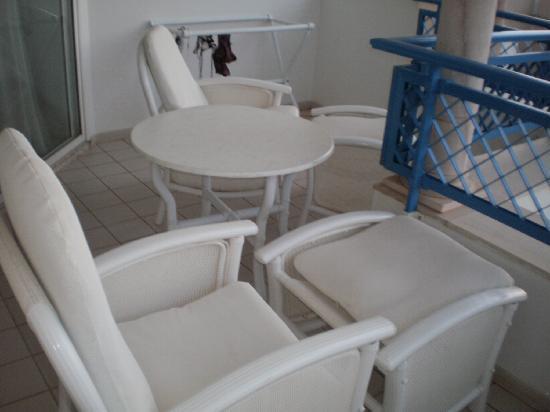 Hasdrubal Thalassa & Spa: balcon