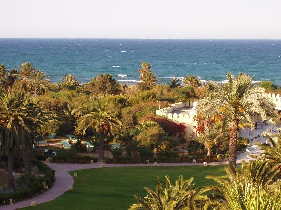 JAZ Tour Khalef Thalasso & Spa: lovely balcony view from vip rooms