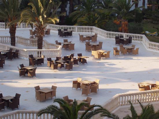 Tour Khalef Marhaba Thalasso & Spa: out door balcony with new bar