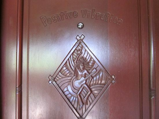 Marley Resort & Spa: Positive Vibrations Door