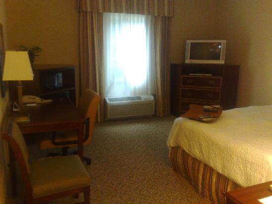 Hampton Inn Vicksburg: Decent sized room