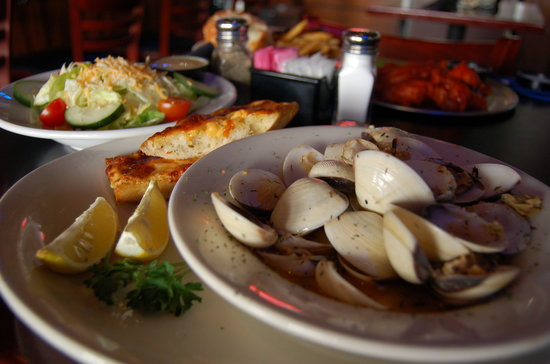 Jimbo's Good Times Grill: Appetizer - Steamed Clams