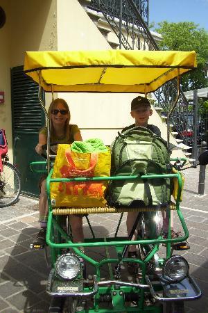 Buggy/Bike on Lido