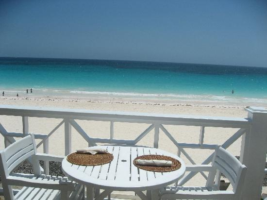 Coral Sands Beach Bar: Great View