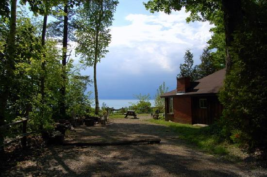 Bayfield, Kanada: the view from our cottage